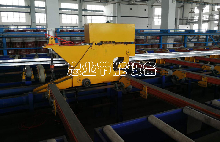 ALUMINUM EXTRUSION PRODUCTION LINE