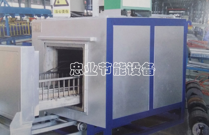 AUTOMATIC DRAWER-TYPE MOLD FURNACE